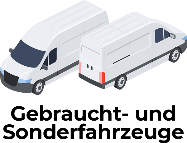 Gebraucht- und Sonderfahrzeuge